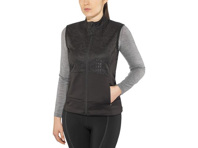 Cube AM Midlayer Vest Dames, black